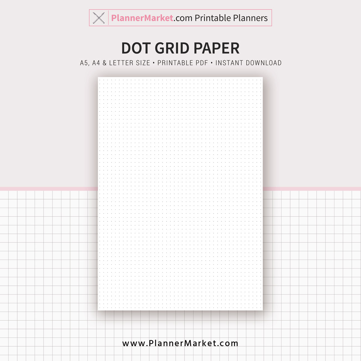 graphic relating to Dot Grid Printable called Very simple Web pages, Dot Grid, Grid, Included Paper, Laptop computer, A4, Letter Sizing, Planner Inserts, A5 Planner Binder, Prompt Obtain