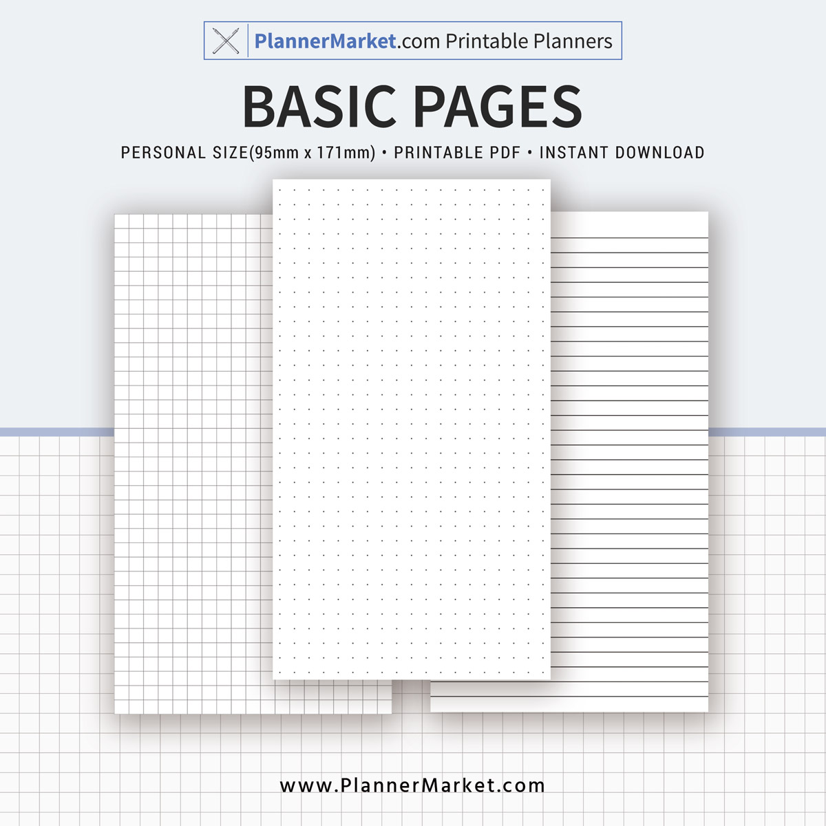photo about Lined Paper Printable Pdf identify Uncomplicated Web site Printable, Dot Grid, Grid, Included Paper, Person Dimension, Planner Inserts, Planner Binder, Quick Obtain