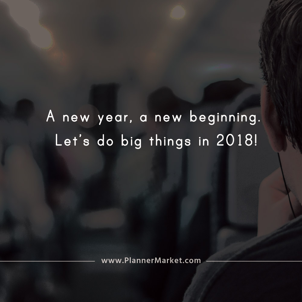 New Year New Things Quotes: Beautiful Quotes: A New Year, A New Beginning. Let's Do
