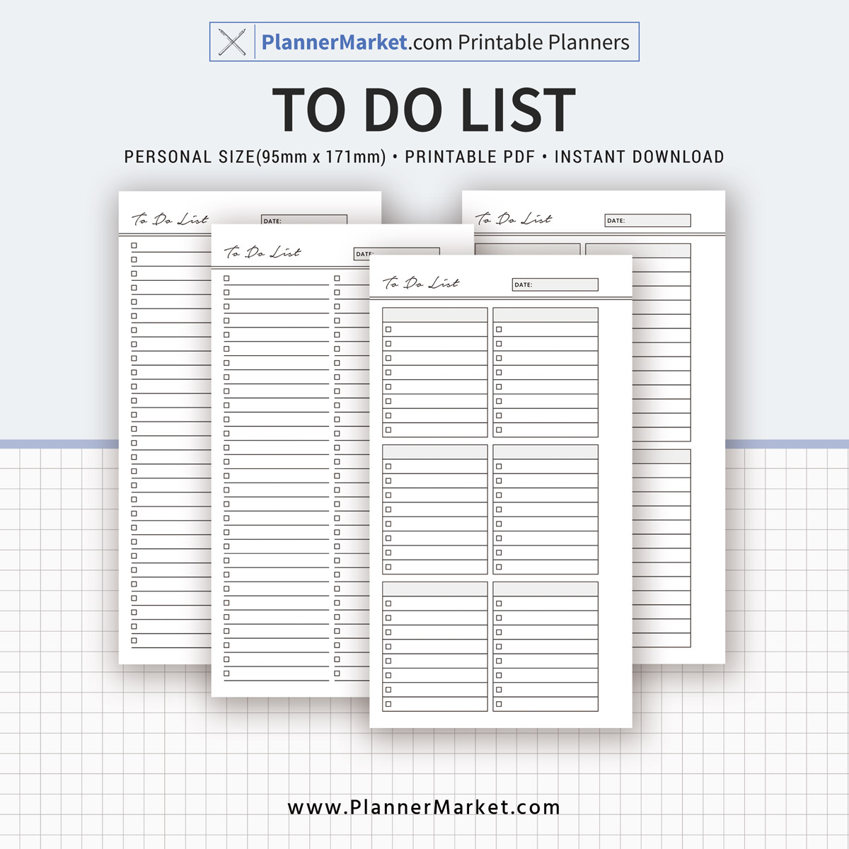 graphic regarding To Do List Pdf called Towards Do Listing, 2019 Planner, Particular person Dimension, Planner Inserts, Planner Refill, Filofax Specific, Fast Obtain