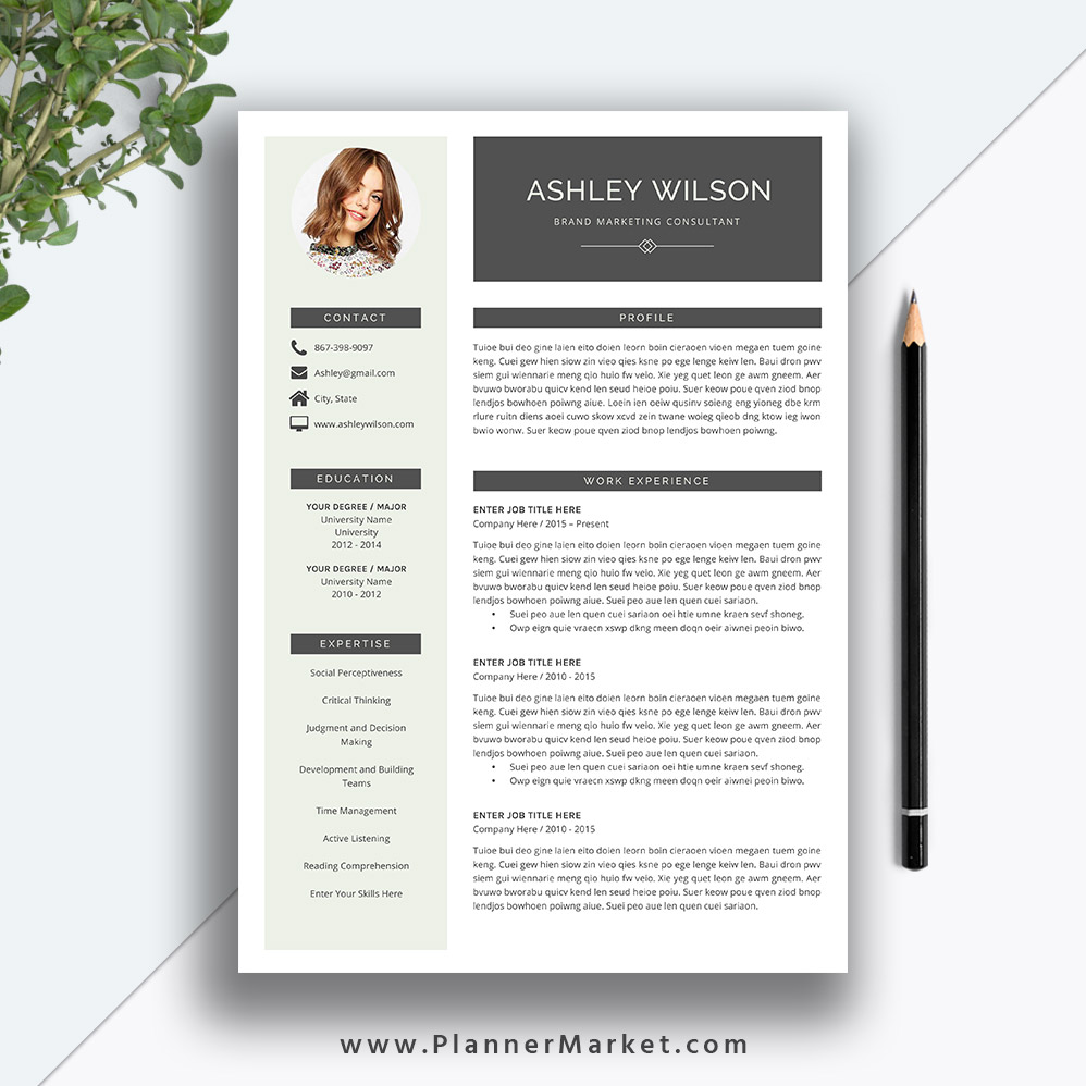 This Beautiful And Modern MS Office Word Resume Template