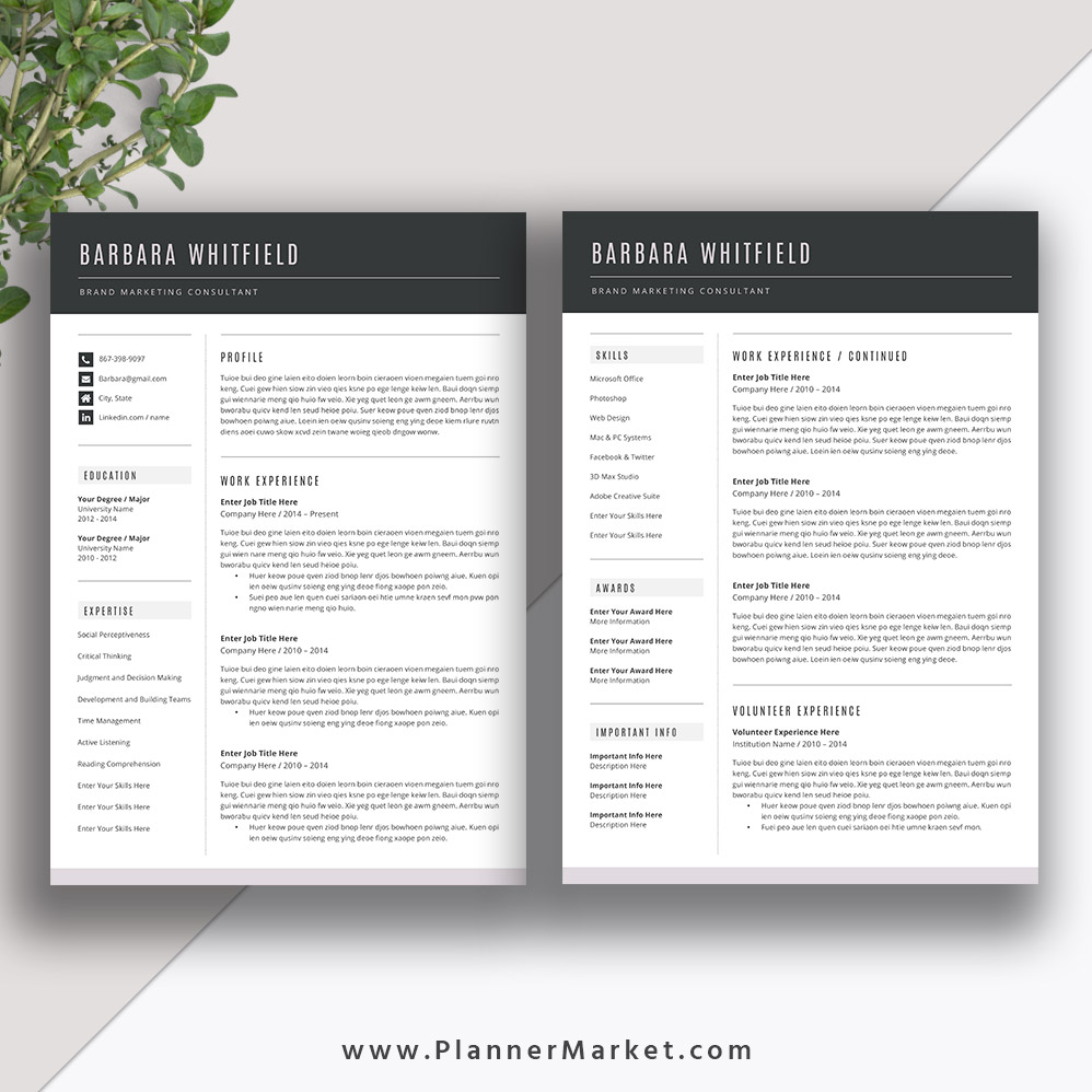 want your resume stand out  try this beautiful resume