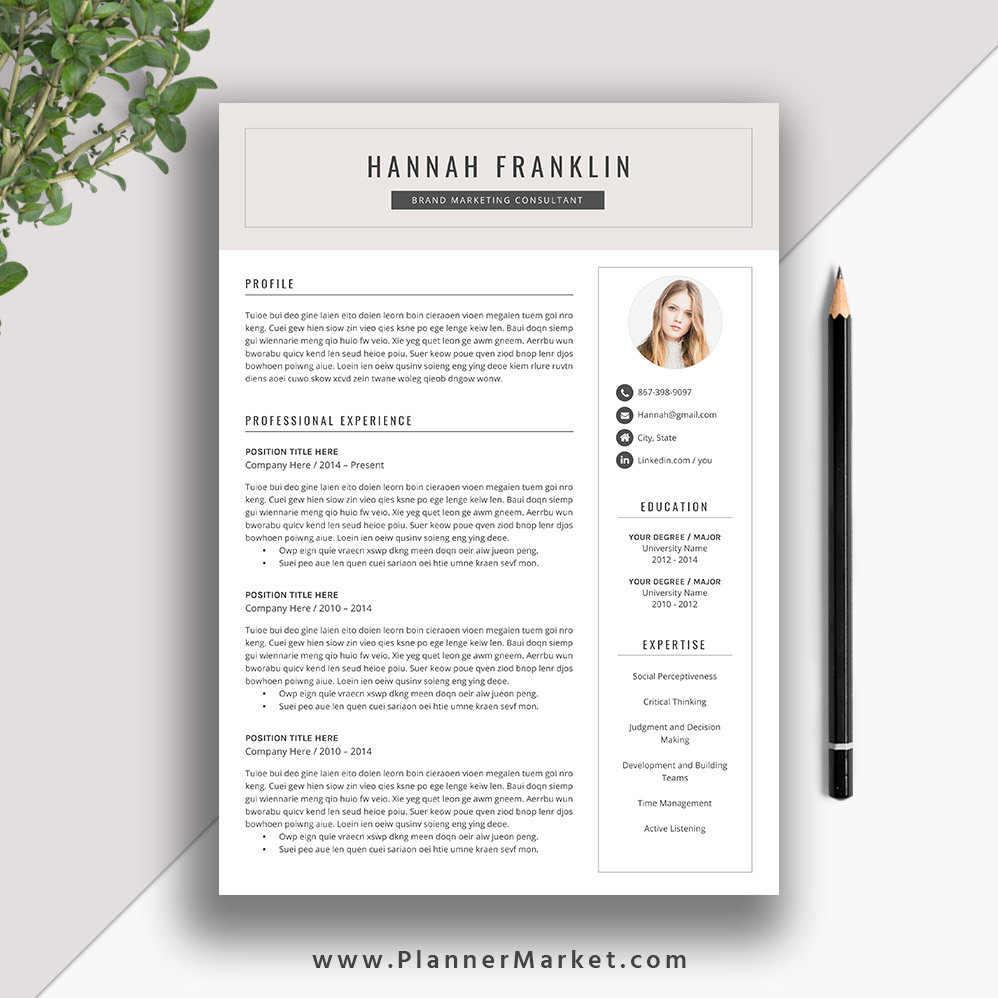 get your resume noticed to starting your new job on the right foot with this beautiful creative