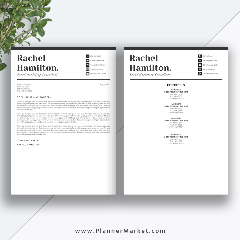professional and irresistible ms word resume bundle